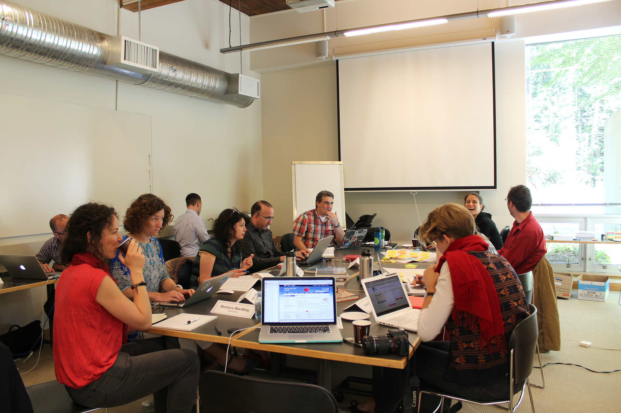 Le personnel de BCcampus à principes ouverts pour le partage des connaissances