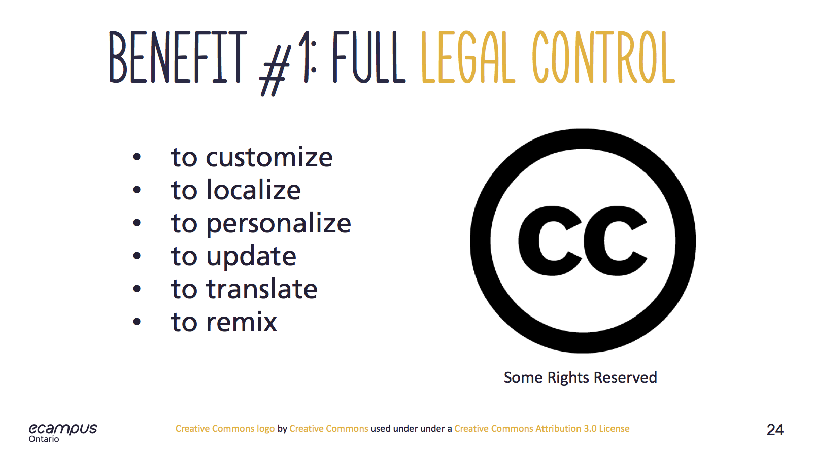 benefits of Creative Commons Licensing