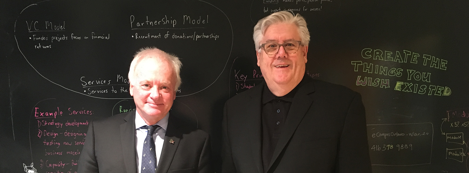 Alan Davis et David Porter